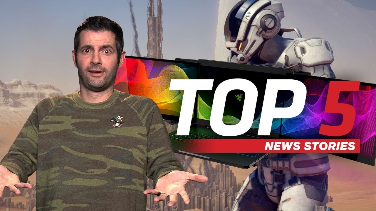 Mass Effect Dated & Razer's Tri-Screen Gaming Laptop – IGN Daily Fix