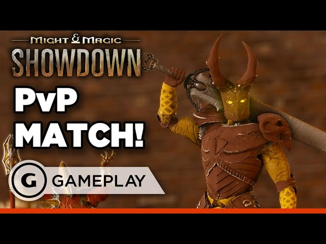 Might and Magic: Showdown – Full Round of PvP Gameplay