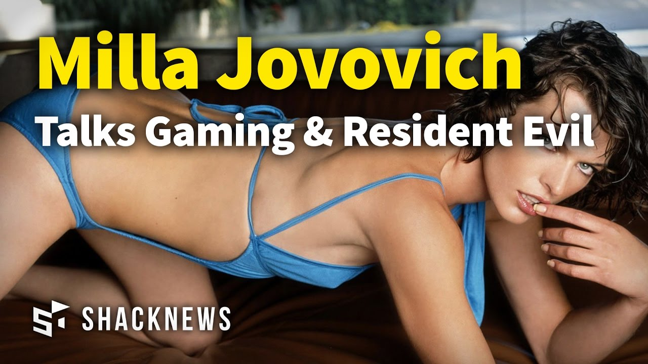 Milla Jovovich Talks Gaming & Resident Evil