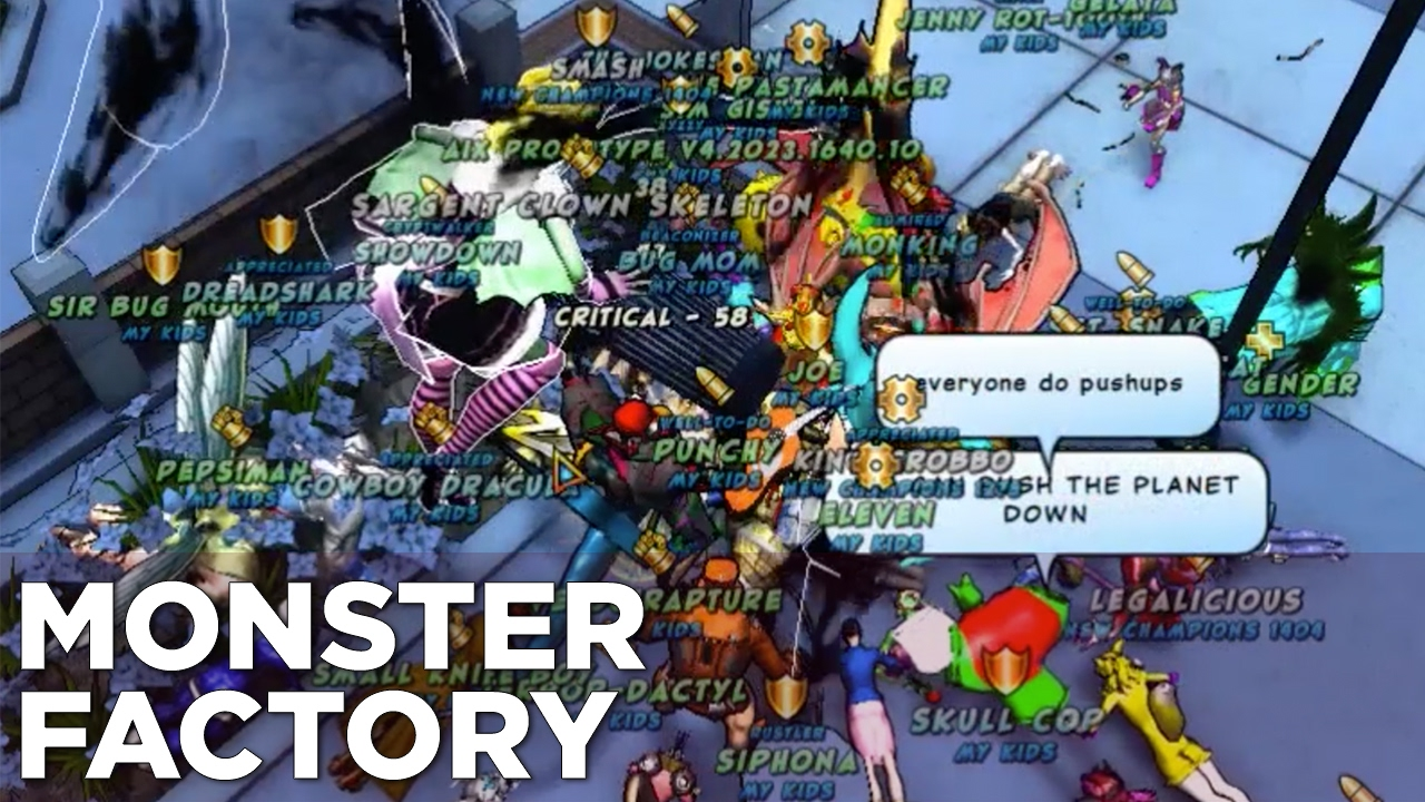 Monster Factory: Forming a Super Group With Knife Dad's Family
