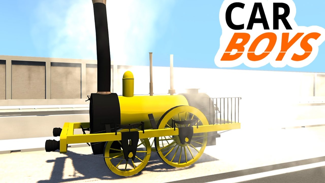 Nick and Griffin's Planet Class Locomotive — CAR BOYS, Episode 21