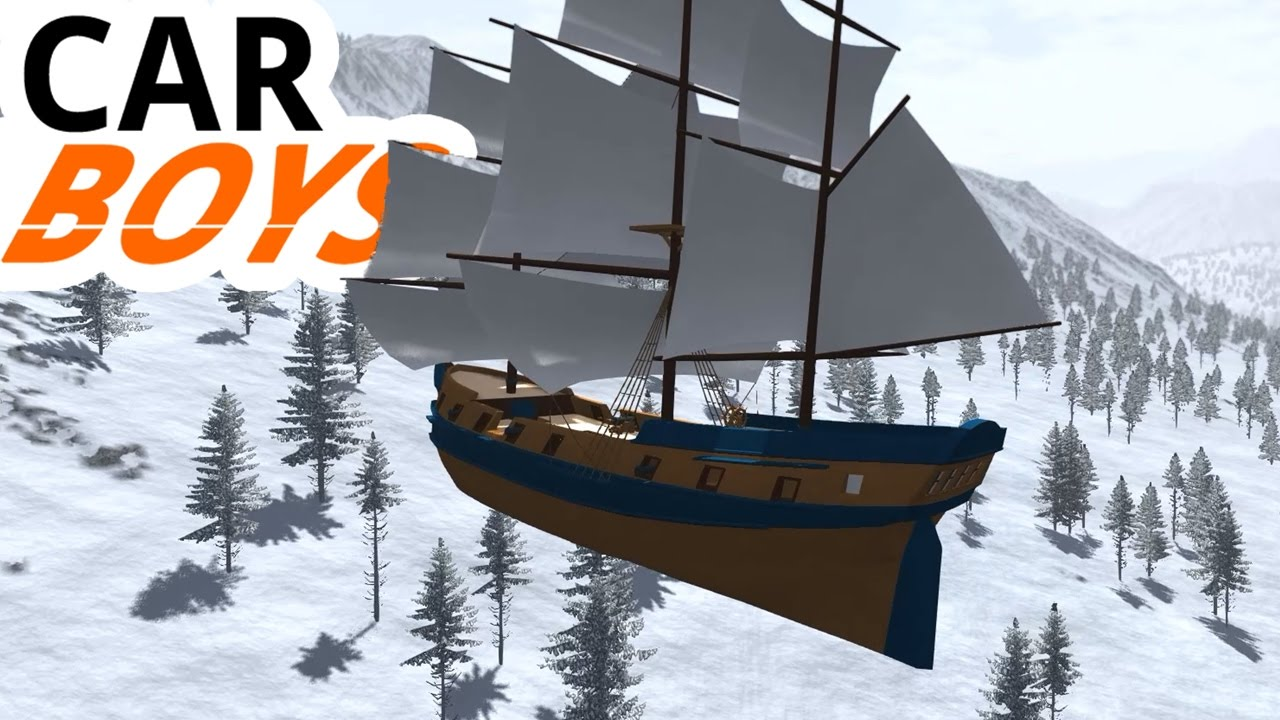 Nick and Griffin's Sky Galleon — CAR BOYS, Episode 22