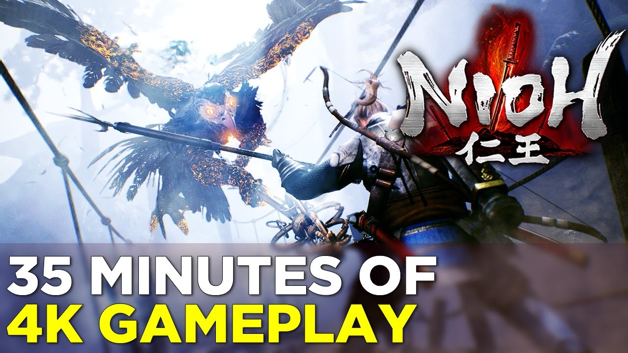 NIOH: 35 Minutes of 4K GAMEPLAY