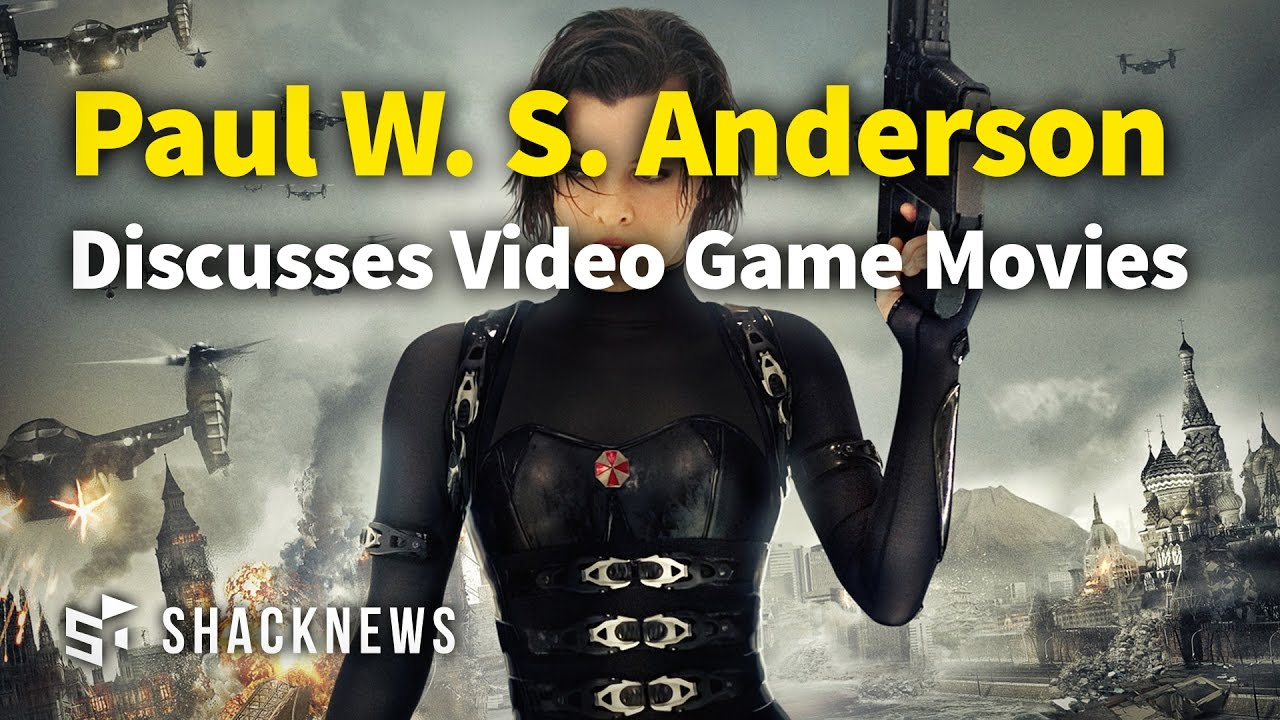 Paul W. S. Anderson Discusses Video Game Movies