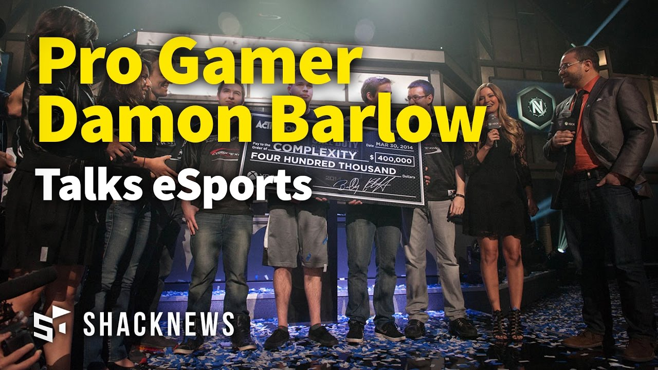 Pro Gamer Damon Barlow Talks eSports