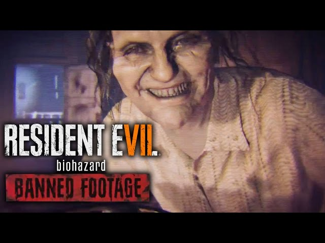 "Resident Evil 7 biohazard – ""Banned Footage"" Trailer"