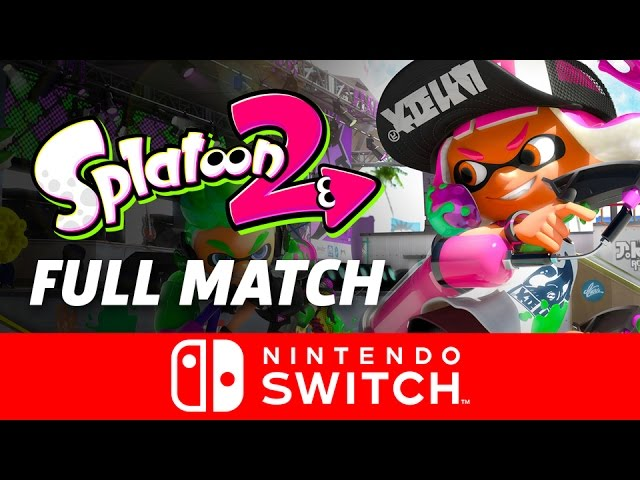 Splatoon 2 Gameplay – Full Match on Nintendo Switch