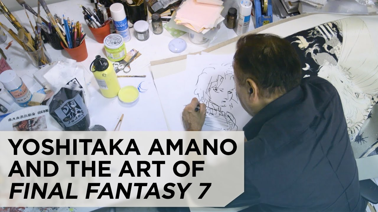The Art of Final Fantasy VII: An Interview with Yoshitaka Amano