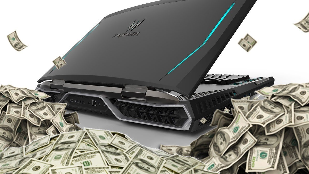 This Insane Gaming Laptop Costs $9000 – Up At Noon