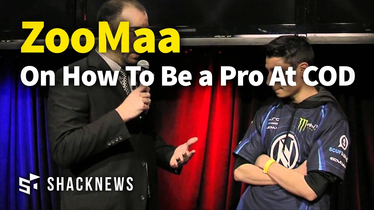 "Thomas ""Zooma"" Paparatto Discusses How To Be a Pro At Call Of Duty"