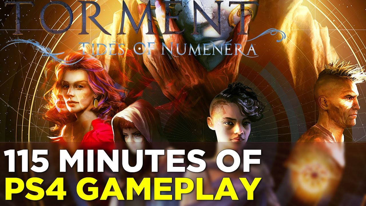Torment: Tides of Numenera – 115 Minutes of PS4 GAMEPLAY