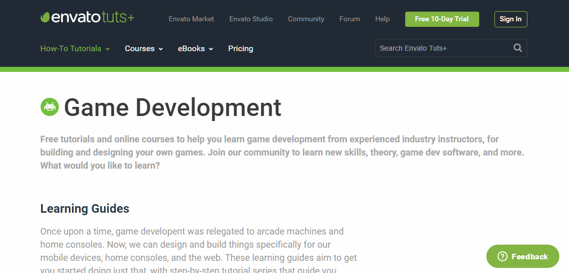 tutsplus game development