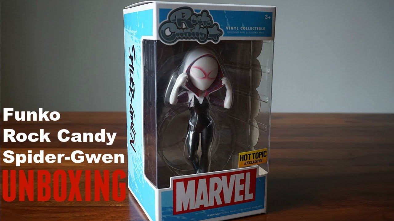 Unboxing: Funko Rock Candy Spider-Gwen