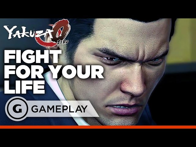 Yakuza 0 – Dojo Showdown Gameplay
