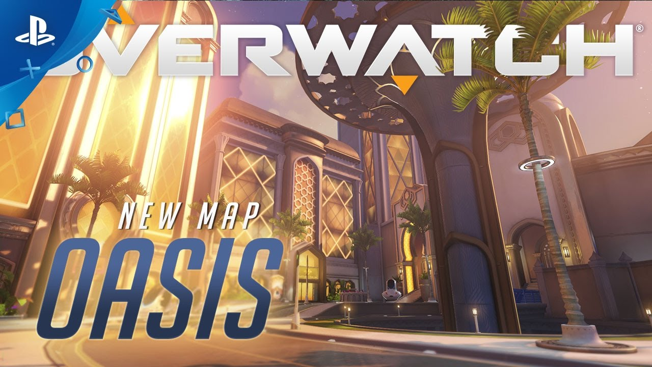 Overwatch – Oasis Map Trailer | PS4