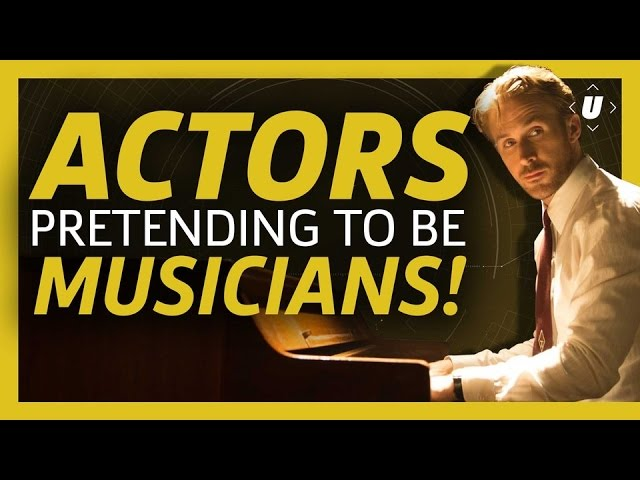 Actors Pretending to be Musicians!