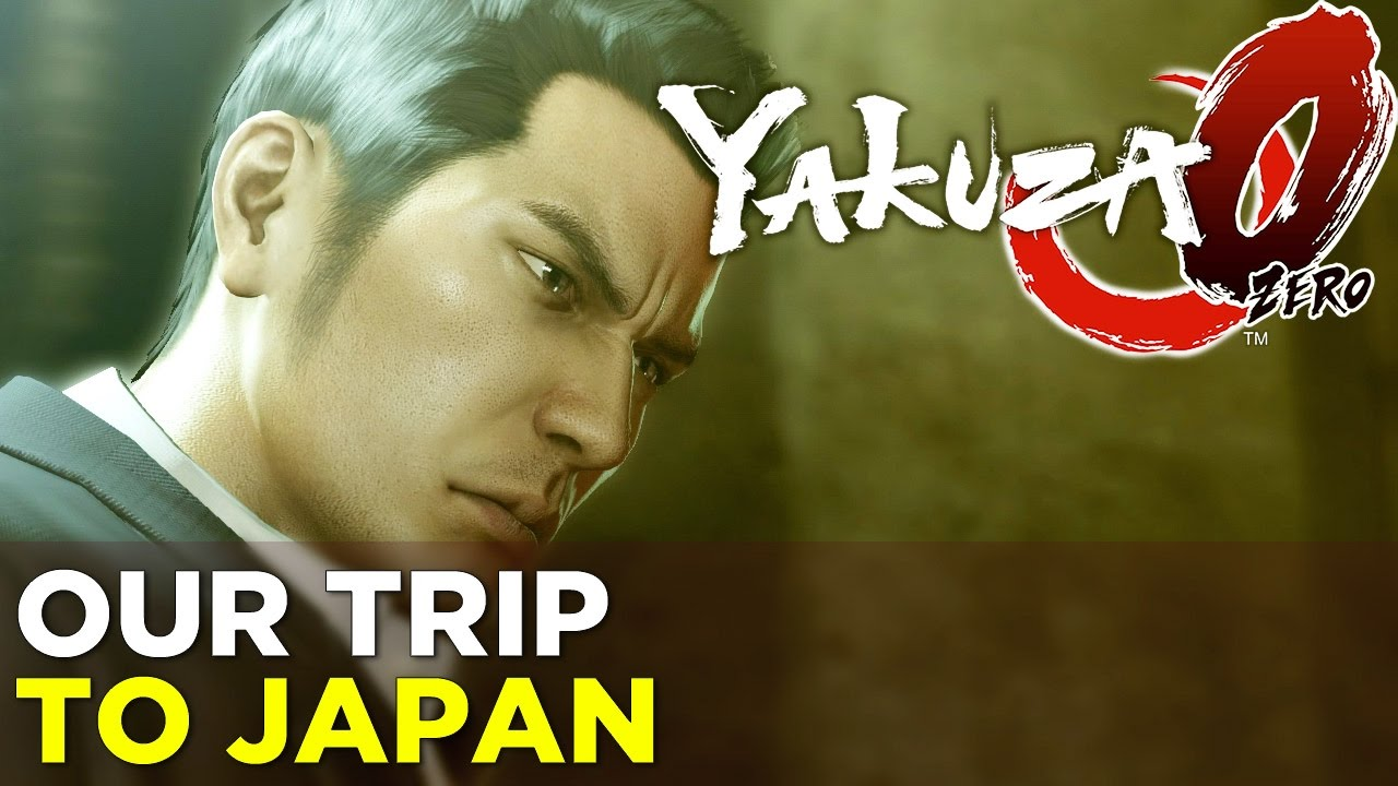 Allegra and Phil Go To Japan! – YAKUZA 0 TO 60, Episode 1