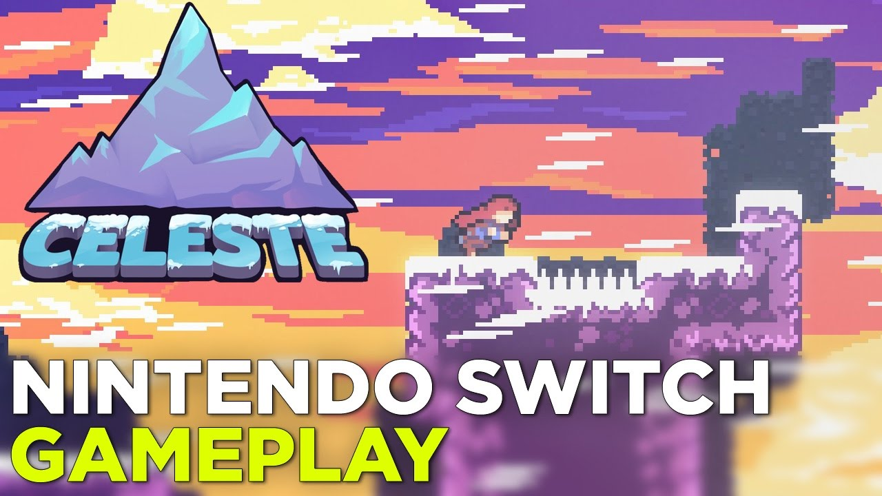 CELESTE Nintendo Switch Gameplay – Hard Mode (Forsaken City + Old Site)