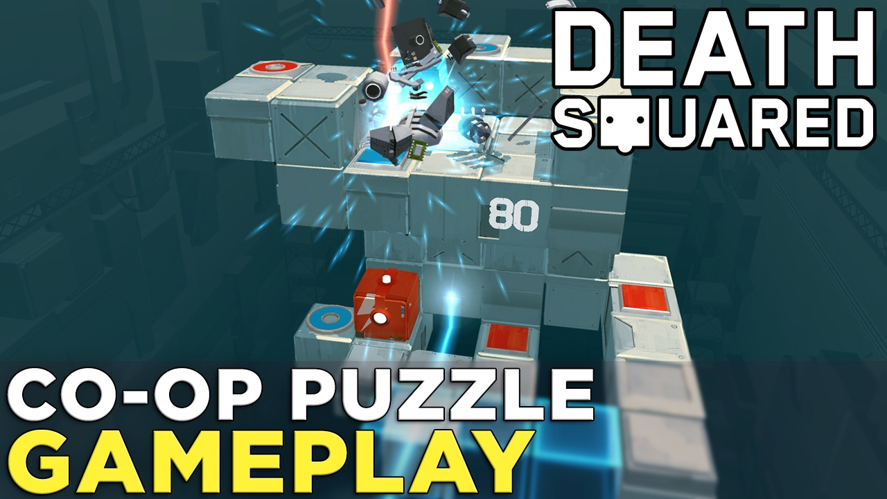 Death Squared: Co-op Puzzle Gameplay with ROBOTS!