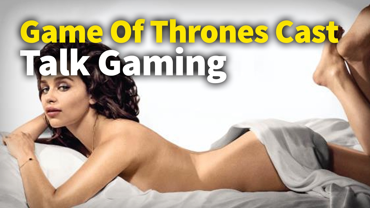 Game Of Thrones Actors Talk Gaming