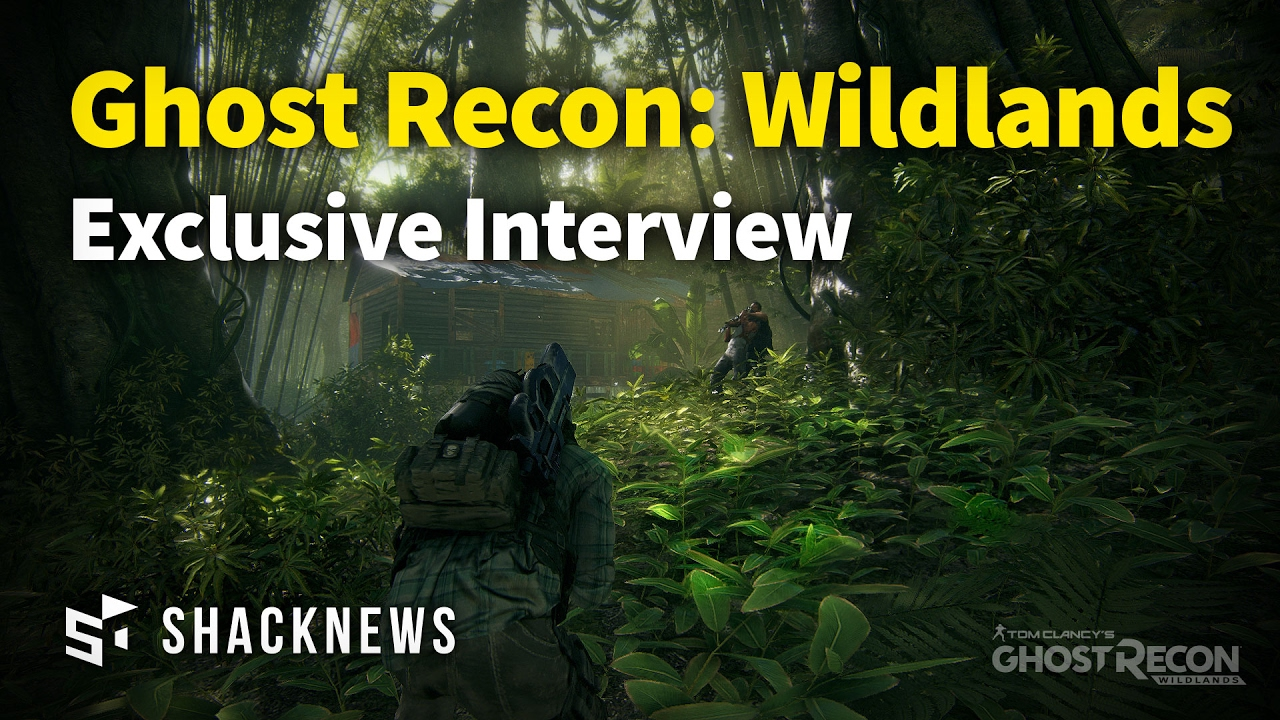 Ghost Recon: Wildlands Narrative Director Sam Strachman Interview