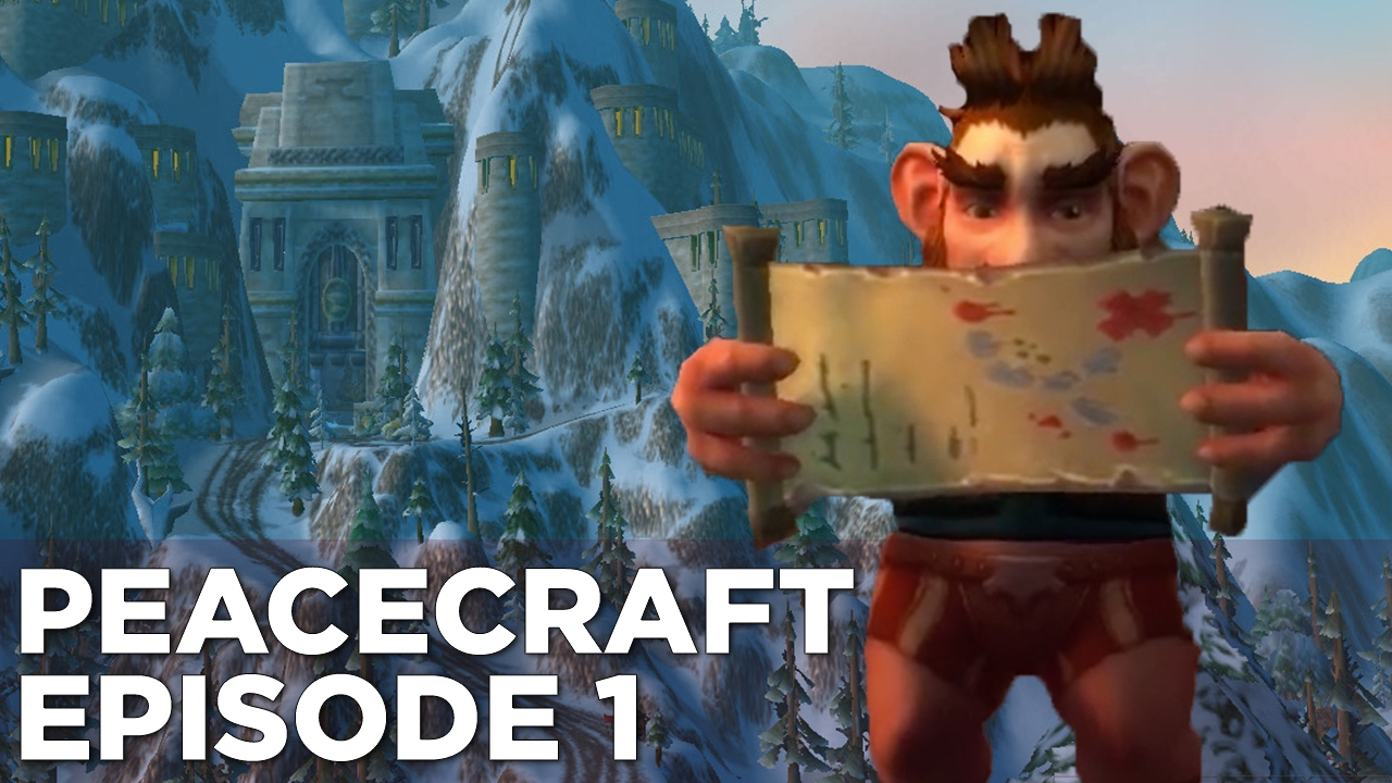 Griffin's MURDER-FREE Tour of World of Warcraft – PeaceCraft Ep. 1