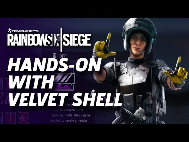 Hands-On: How Velvet Shell Changes Rainbow Six: Siege