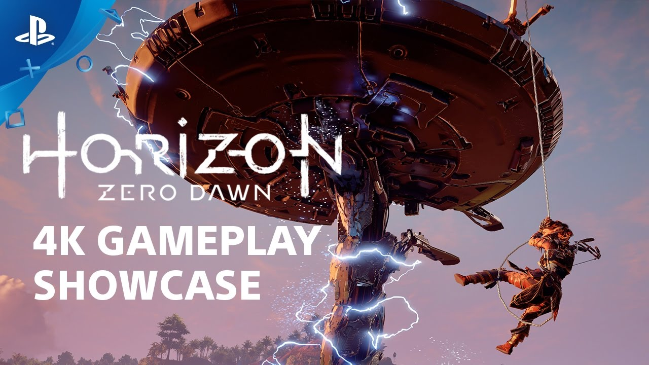 Horizon Zero Dawn 4K Gameplay Show and Tell | PS4 Pro
