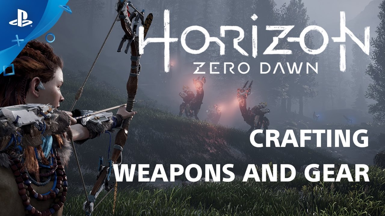 Horizon Zero Dawn: Crafting Systems – Countdown to Launch at PS Store | PS4