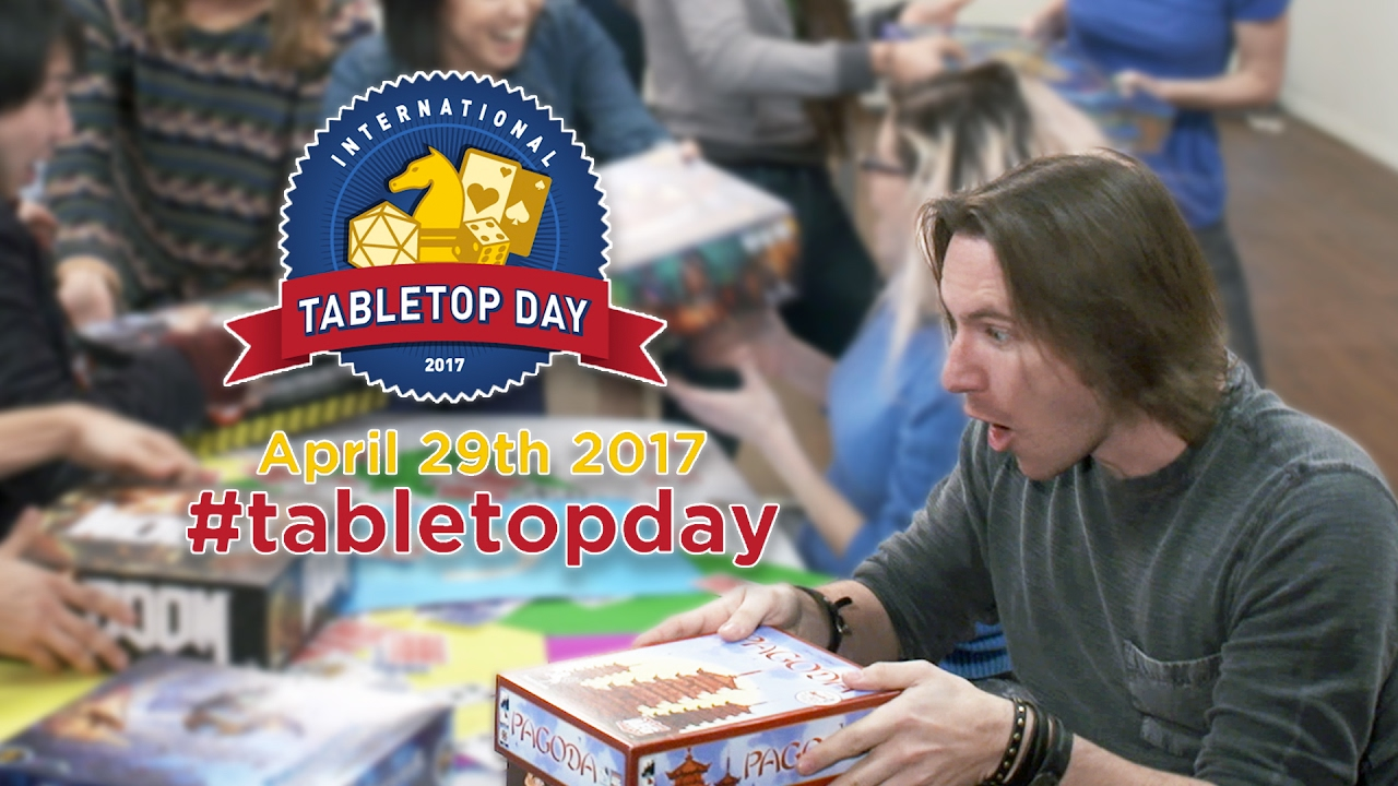 International TABLETOP DAY Makes Matt Mercer Spin!
