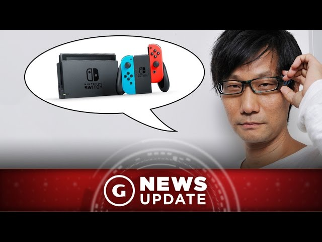 Kojima Reveals His Thoughts On Nintendo Switch – GS News Update