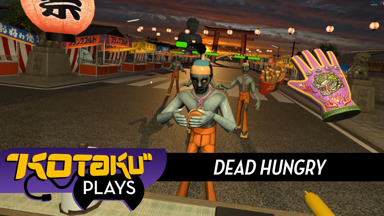Kotaku Plays Dead Hungry, A Different Sort Of VR Zombie Game