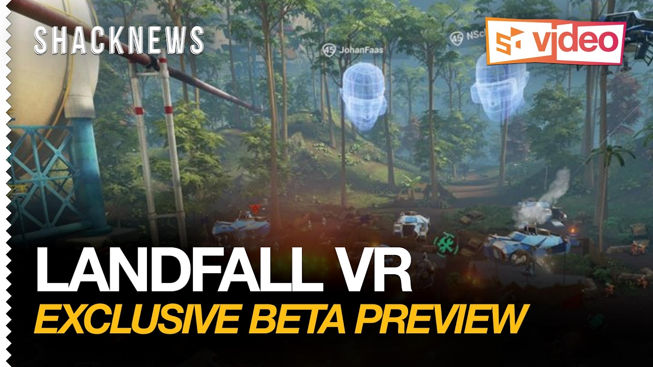 Landfall VR Exclusive Multiplayer Beta Gameplay Preview