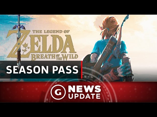Legend Of Zelda: Breath Of The Wild DLC Pass Announced – GS News Update