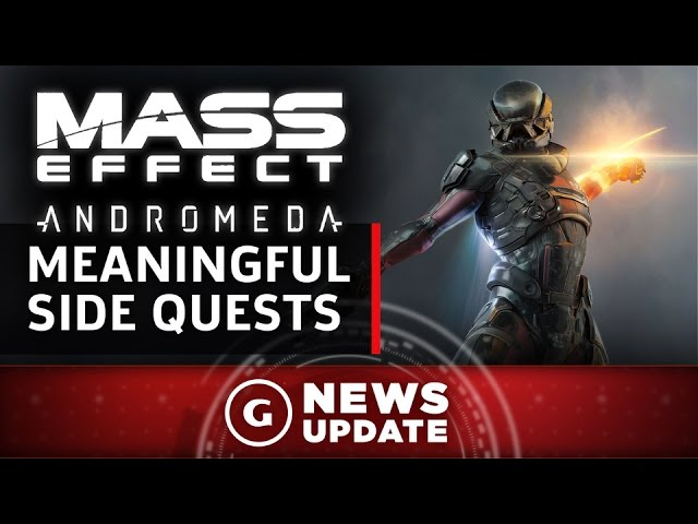 "Mass Effect Andromeda Will Have ""Meaningful"" Sidequests – GS News Update"