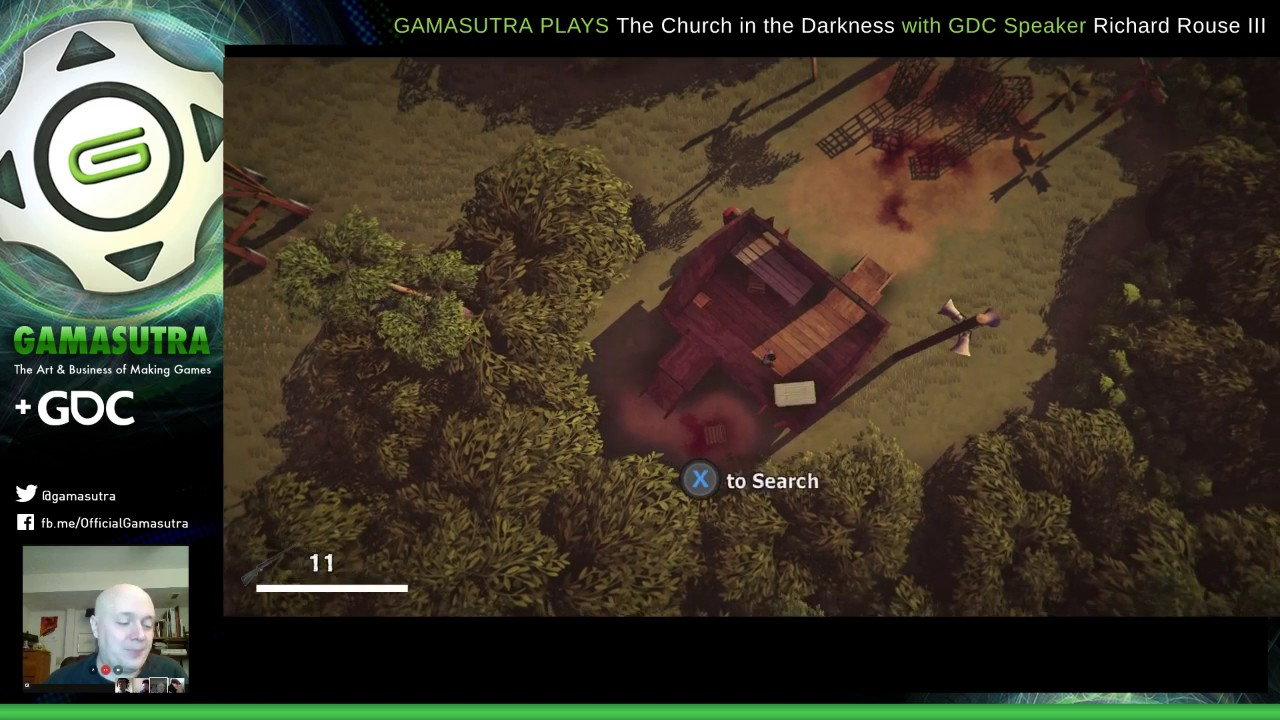 Gamasutra talks systemic narrative design with #gamedev Richard Rouse III