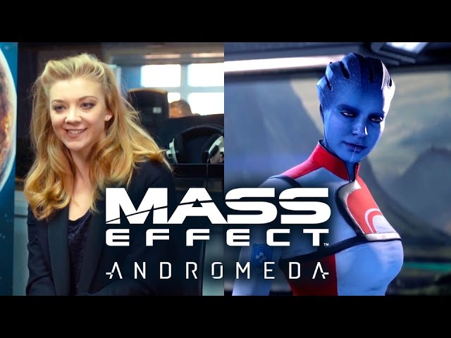Natalie Dormer as Dr Lexi T'Perro Trailer – Mass Effect Andromeda