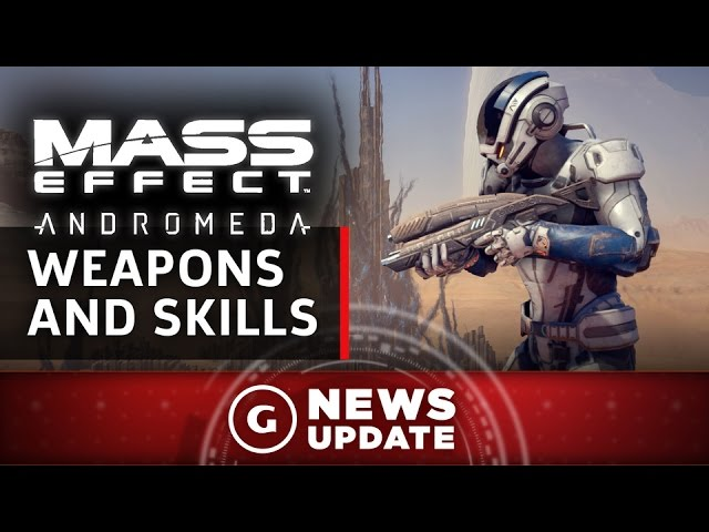 New Mass Effect: Andromeda Weapons And Skills Revealed – GS News Update
