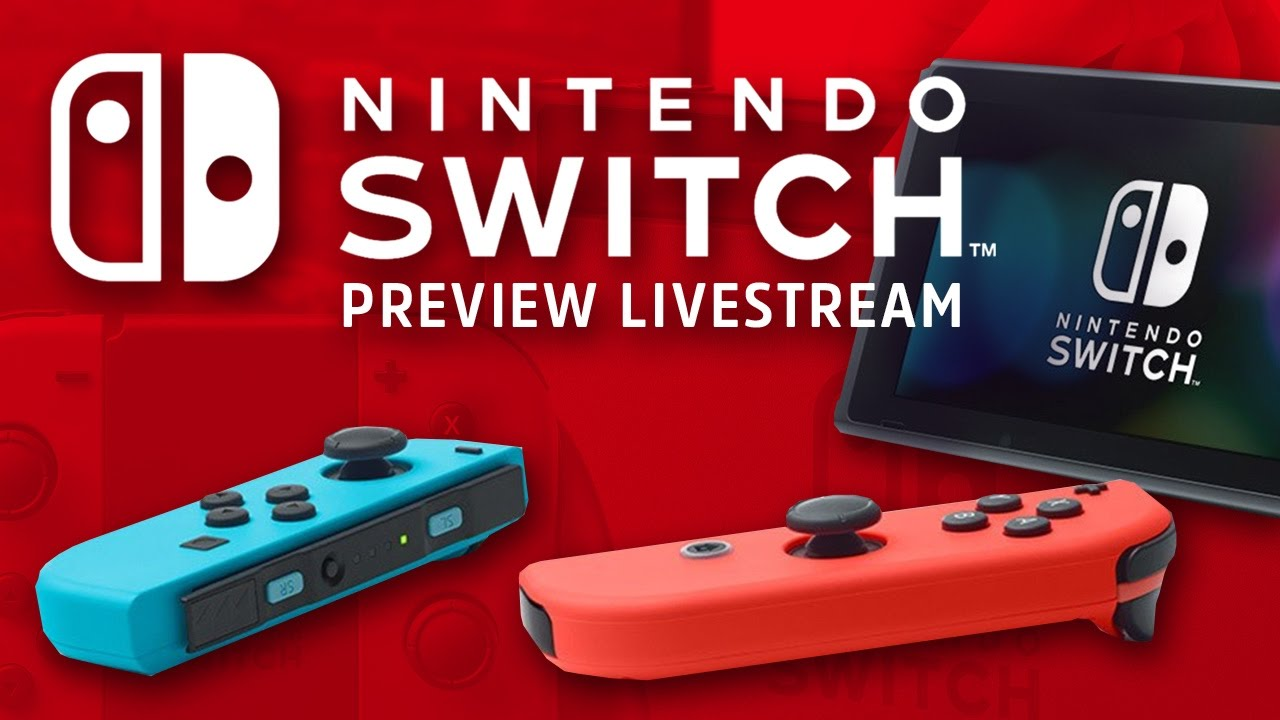 Nintendo Switch Livestream – Console, OS, and Early Zelda Impressions