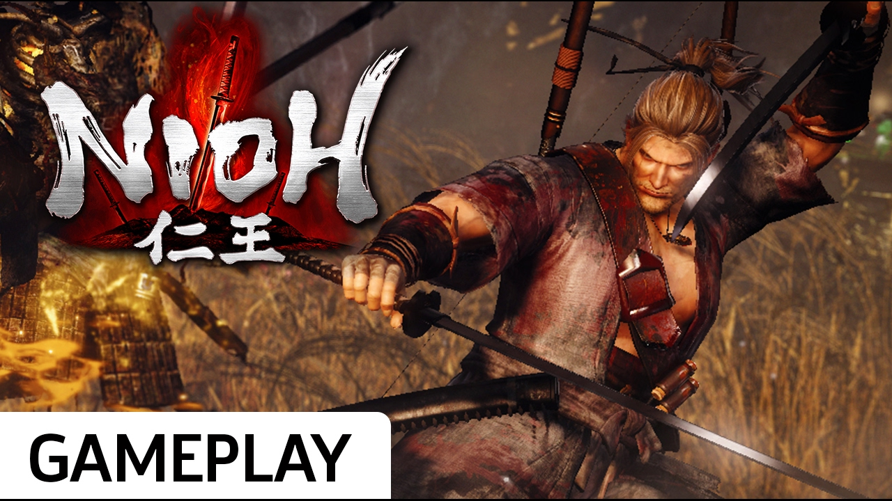 Nioh – 11 Minutes of Dual-Katana Gameplay