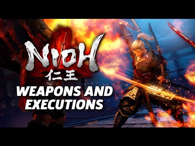 Nioh – Melee Weapons and Executions