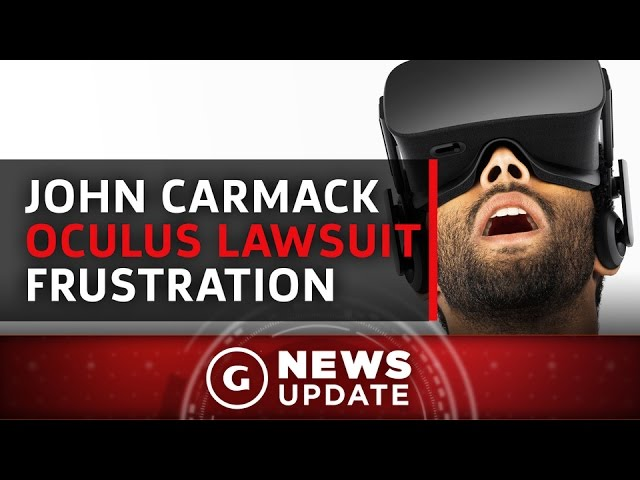 Following Oculus's Lawsuit Loss, John Carmack Expresses Frustration – GS News Update