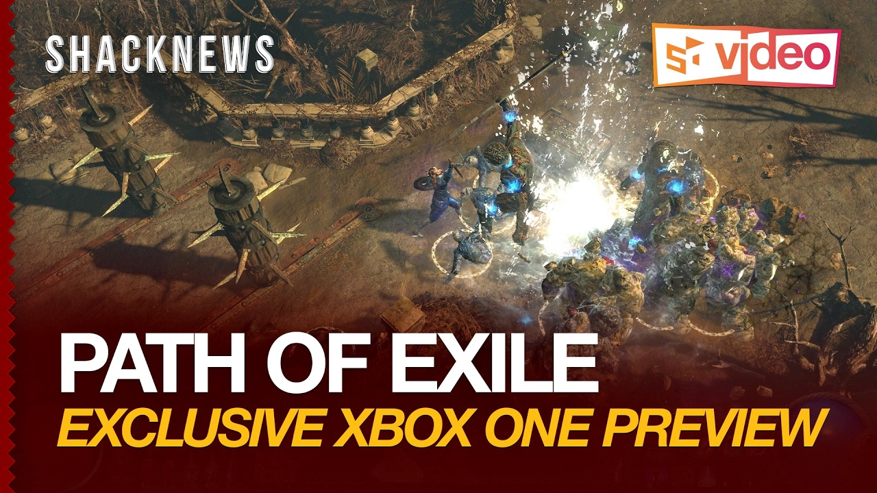 Path Of Exile Exclusive Xbox One Preview
