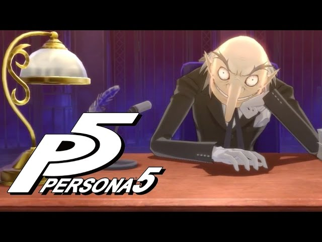 Persona 5 – Welcome To The Velvet Room Trailer