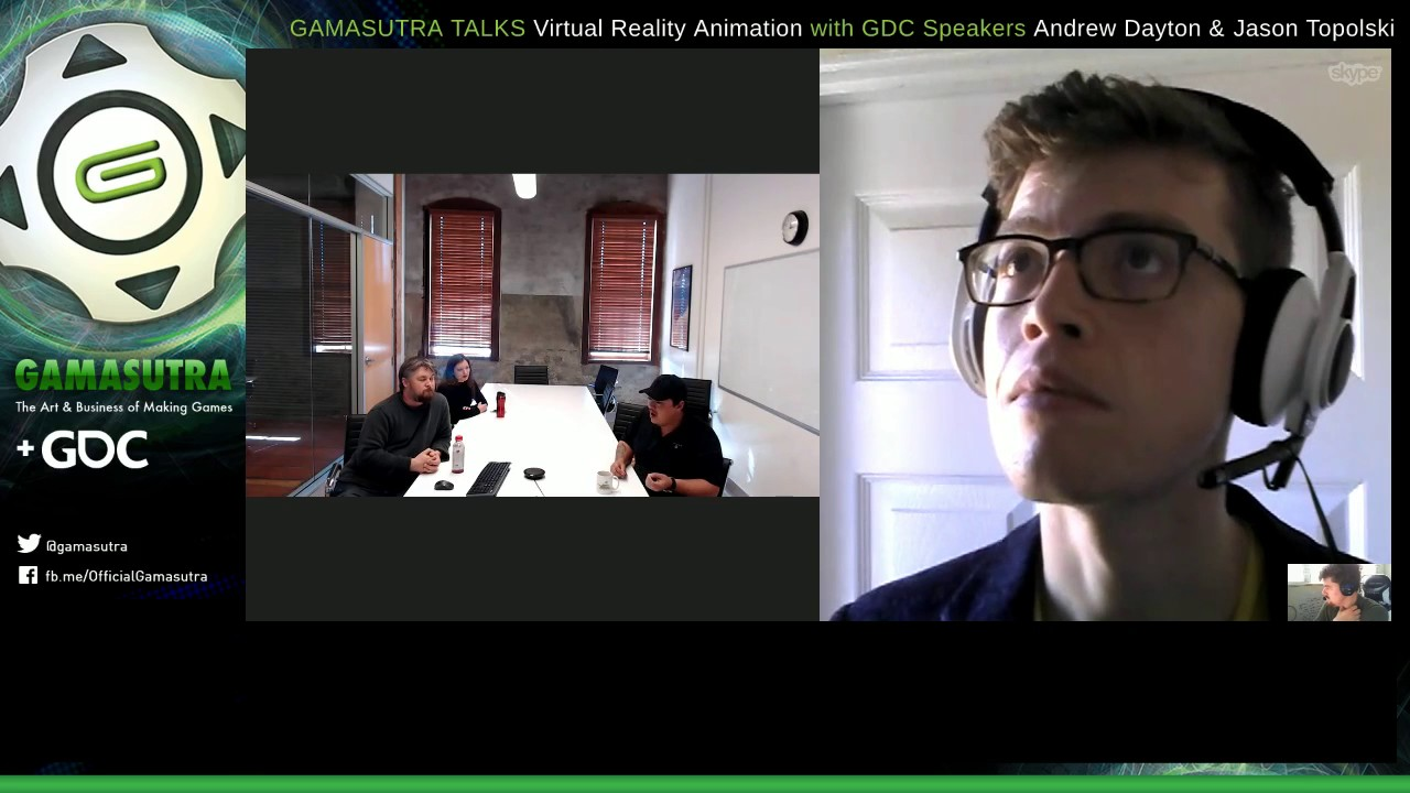 Gamasutra talks VR Character Design with #gamedev Andrew Dayton & Jason Topolski