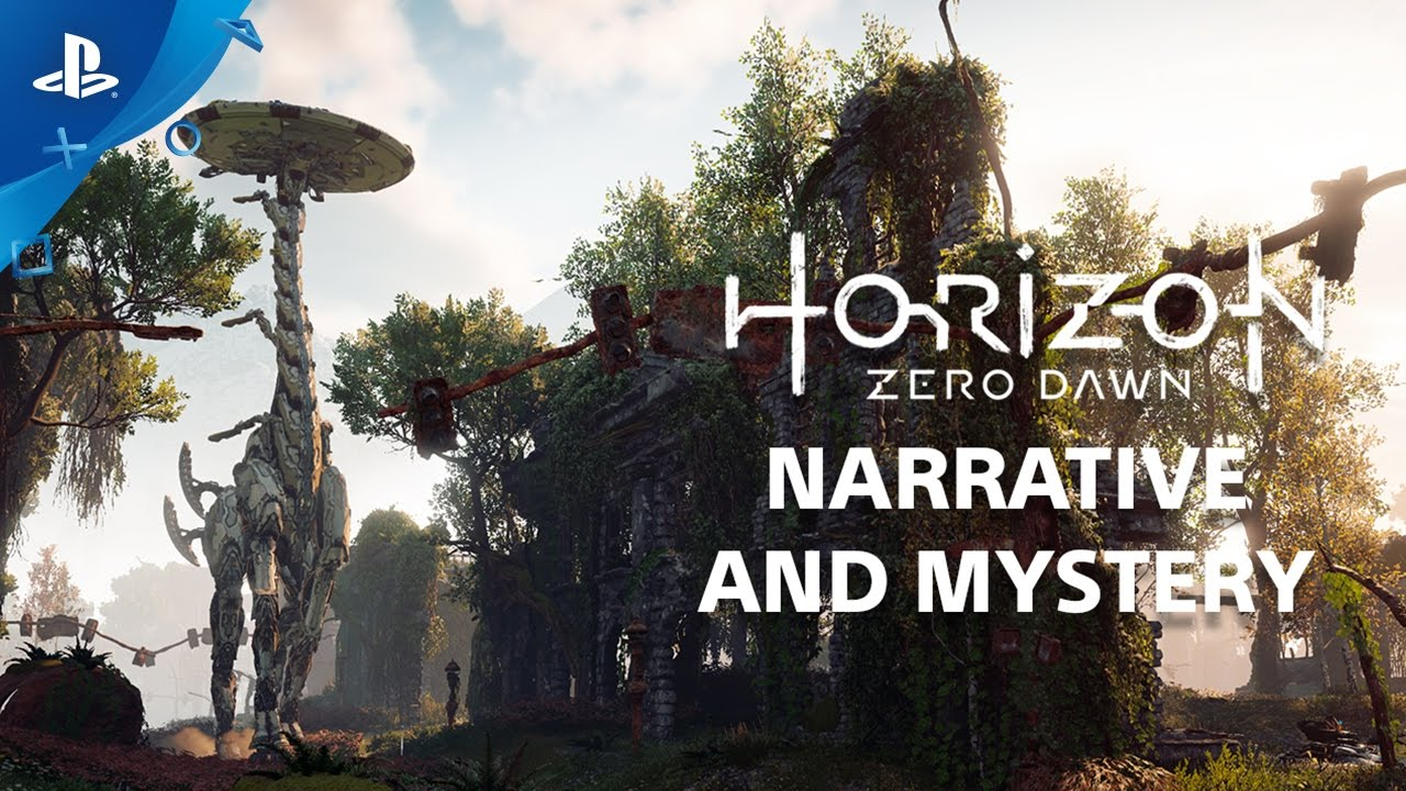 Horizon Zero Dawn: The Rich Narrative – Countdown to Launch at PS Store | PS4