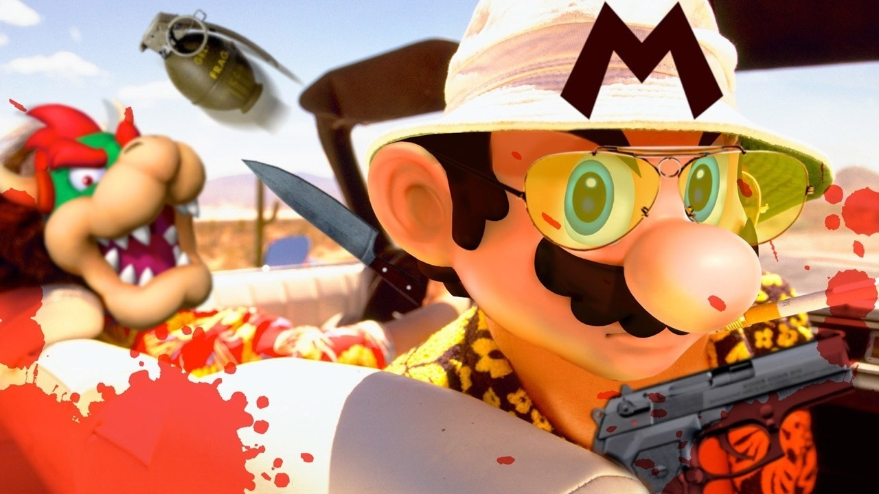 Suda51 Has an Insane Idea For a Mario Game – Up At Noon Live!