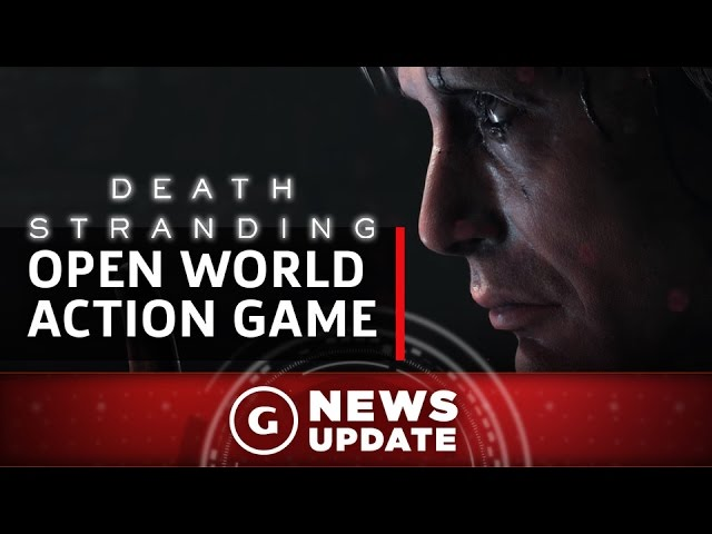 "Death Stranding Is A ""Very Intuitive"" Open-World Action Game – GS News Update"
