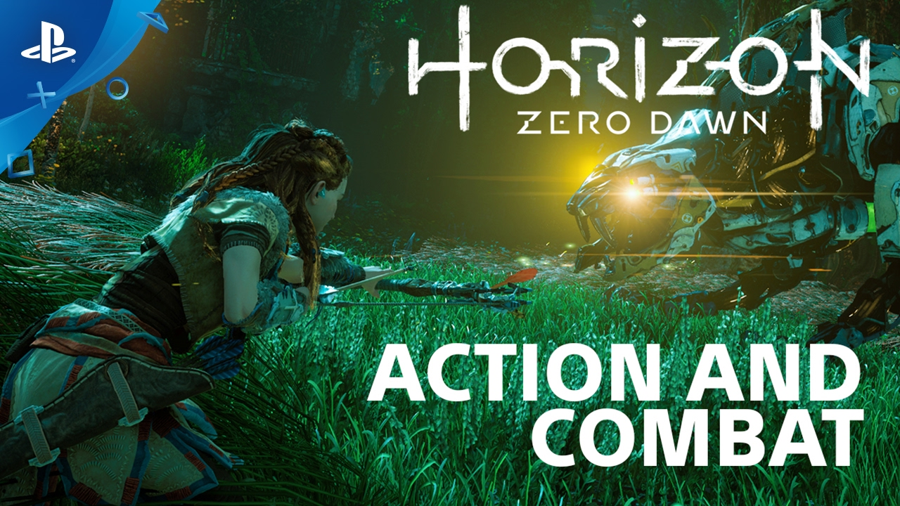 The Combat of Horizon Zero Dawn – Countdown to Launch at PS Store | PS4