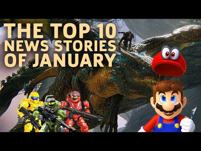 Top 10 News Stories of January 2017
